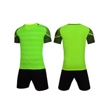 Top Quality Men Soccer Kits Football training jersey suits Breathable Football survetements Sports Shirt 2017 18(China)