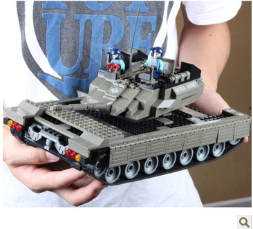 WOMA J5664 Tank and Armoured Car Plastic Building Block Sets 581pcs Educational DIY Bricks Toys for children<br><br>Aliexpress