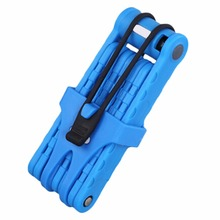 New Bicycle Bike Folding Link Plate Lock With Keys Security Anti-Theft Free Shipping