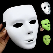 Plastic Full Face Adult Jabbawockeez Dance Crew Costume Mask Party Halloween Props TB Sale