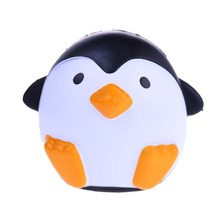 New Arrival Jumbo Penguin Kawaii Cute Animal Slow Rising Sweet Scented Vent Charms Bread Cake Kid Toy Doll Gift Fun(China)