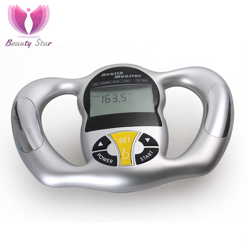 Portable Electronic Body Fat Measuring Cellulite Lipo Test Analyzer LCD Display Measurement Adipose Analyzer Health Care Monitor<br><br>Aliexpress