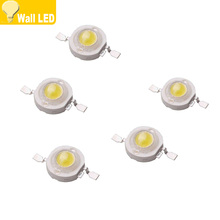 10pcs 1W 3W Warm Naturel cold white green red blue LED lamp Bulb Diodes Light Source LEDs Chip For 3W -18W Spot light Downlight