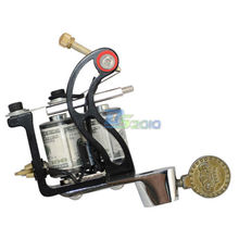 10 Wrap Coils Tattoo Machine Gun Spring Shader Liner  Ink Custom Core Cast Iron Tattoo Supply Low Noise New