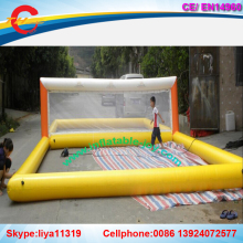 free shipping!12x6m inflatable water volleyball court,Inflatable Volleyball Court,Outdoor Inflatable Beach ball Games