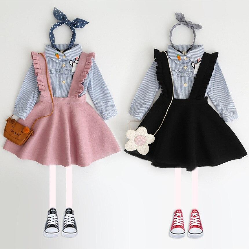 New Autumn 2018 Brand Baby Girls Dress Sweaters Kids Overalls Dress Children Knitted Dress Strap Toddler Dress Beautiful,#2339