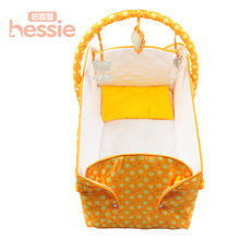 Infant Bed Kids Bed Baby Portable Playpen Crib Play Blanket Soft Play Mat Game portable kid bed Play Tapaete Folding Bed Baby(China)