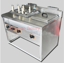RYGH-1076 Vertical Gas Fuel Convection pasta Cooker Noodle boiling machine Noodle boilers stainless steel(China)