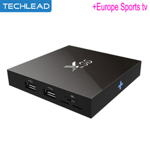 Network IPTV Media player X96 16GB with Iview HD Europe sports channel Arabic Turkey Italy ip tv account Greek UK German code(China)