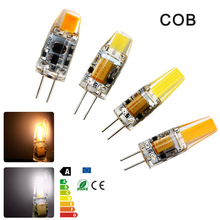 High Quality Mini G4 LED Bulb Lamp 3W 6W AC/DC 12V COB LED G4 Bulbs 360 Beam Angle Replace Halogen Lamp Chandelier Lights(China)
