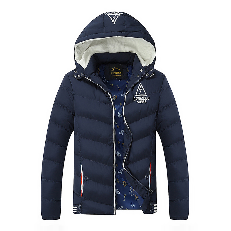 Cotton Coats Men Parkas Hooded Winter Jackets Men Coat Outwear Windbreaker Men High Quality Warm Bomber JacketsОдежда и ак�е��уары<br><br><br>Aliexpress