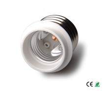 E40 to E27, E27 Lamp Holder to E40 Lamp Base converter, 70g/pc lamp holder converter, PBT Material, high quality