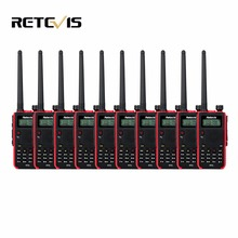 10pcs Dual Band Walkie Talkie Retevis RT5 128CH Dual Band VHF UHF 136-174&400-520MHz VOX Frequency Portable Radio Communicator
