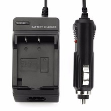 2 in 1 Wall Charger and Car Charger  Digital Camera Original Rechargeable Li-ion Battery Charger for OLYMPUS BLS1