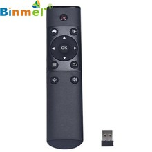 Binmer GS Gyroscope FM4 2.4GHz Remote Control Keyboard Wireless Fly Air Mouse Montion Sense Stick for Android TV BOX Mar 11