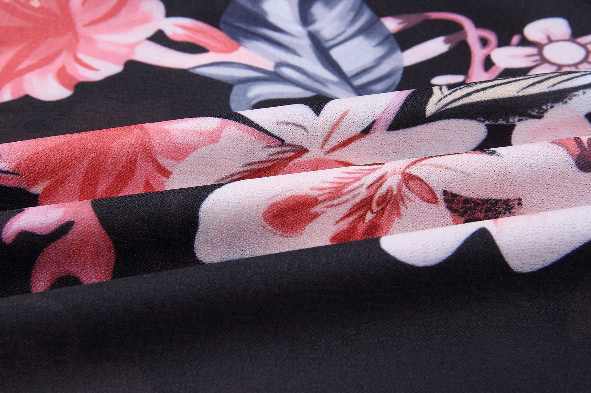 2018 Summer Dress Women Print V Neck Short Sleeve Robe Female Dresses Casual Sashes Midi Dress Ladies Elegant Vestidos Dropship 25