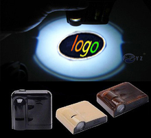 1 Pair for GMC Wireless Led Car Logo emblem Door Projector Laser Light LED Welcome Ghost Shadow No Drilling Car Styling