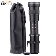 Buy JINTU HD Super Telephoto 420-800mm F/8.3-16 Manual Lens + T2 Adapter CANON 60D 70D 80D 750D 1200D 1100D 650D 550D 1000D 450 for $109.99 in AliExpress store