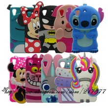Phone Case For HTC Desire 530 Case Desire 630 3D cartoon Color Unicorn Stitch Minnie soft Silicone Back Cover For HTC 630 530