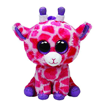 "Ty Beanie Boos 6"" 15cm Twigs Pink Giraffe Plush Stuffed Animal Collectible Soft Big Eyes Doll Toy(China)"
