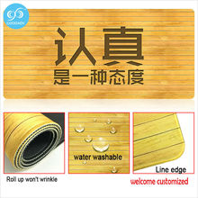 Modern Cartoon Style Door Mats Room Mat Washable Custom Kitchen Mats Long Strip Non-slip Mat