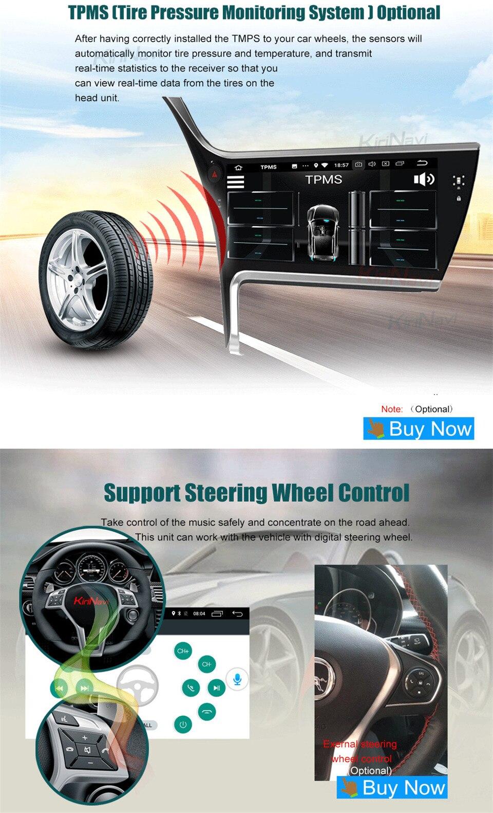 KiriNavi Car Radio For Toyota Corolla 17 (12)