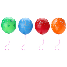 20pcs Baby Birthday Party Balloon 3D Print Number 1 Balloon Air Balls Latex Balloons Inflatable Wedding Party Decoration Toys(China)