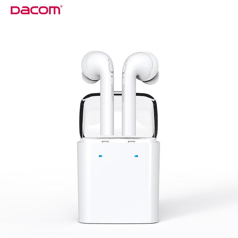 Dacom original GF7 TWS True wireless Bluetooth Earbuds earphones Double Twins Headset For iPhone 7 xiaomi Smartphone<br>