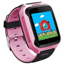 TWOX Q528 Children GPS Smart Watch with Camera Flashlight for Apple Android Phone  Smartwatch Kids Smart Electronics PK Q90 Q730