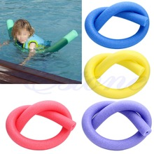 Rehabilitation Learn Swimming Pool Noodle Water Float Aid Woggle Swim Flexible 6.5*150cm(China)