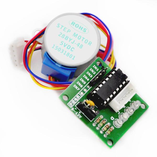 R7030 5V 4-Phase Stepper Step Motor + Driver Board ULN2003 with drive Test Module Machinery Board for Arduino 2set/lot<br><br>Aliexpress