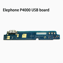 Original usb plug charge board For Elephone P4000 Mobile Phone Flex Cables charging module Microphone cell phone Mini USB Port