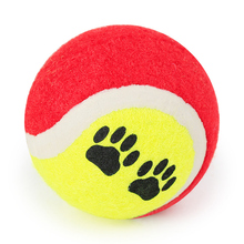2PC Tennis Ball For Pet Dog Chew Toy Pets Toy Ball For Small Dogs Supplies Puppy Play Toys For Dog Balls Games Pet Products
