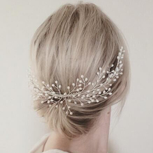 Handmade Large Headdress Luxury Women Hair Jewelry Wedding Prom Hair Accessories Pearl Bridal Comb For Bride Bridesmaid