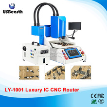2017 LY 1001 automatic ic cnc router for iPhone ic repair CNC Milling Polishing Machine Luxury pack