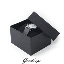 Wholesale 30pcs/lot Single Watch Holder Box With Black Velvet Pillow Package Wrist Watch or Bracelet Chain Storage Display Boxes