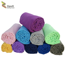 Zipsoft Microfiber Large size Beach towel Quick Drying Compact for Bath Gym Travel Camping Sport Hot Yoga Towel Swimwear Blanket(China)