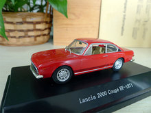 Star line 1:43 Lancia 2000 Coupe HF 1971 boutique alloy car toys for children kids toys Model Original package freeshipping(China)
