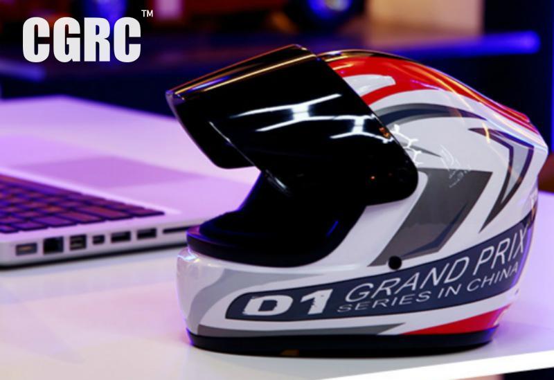 Model Racing Motorcycle Helmet Helmet. Decoration Window Display Props Ornaments Doll<br>