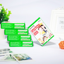 50 sheets Original Fujifilm Instax Mini Film 8 7s 25 50s 90 Polaroids 300 Instant White Edge Photo Paper Fuji Film Camera 50pcs