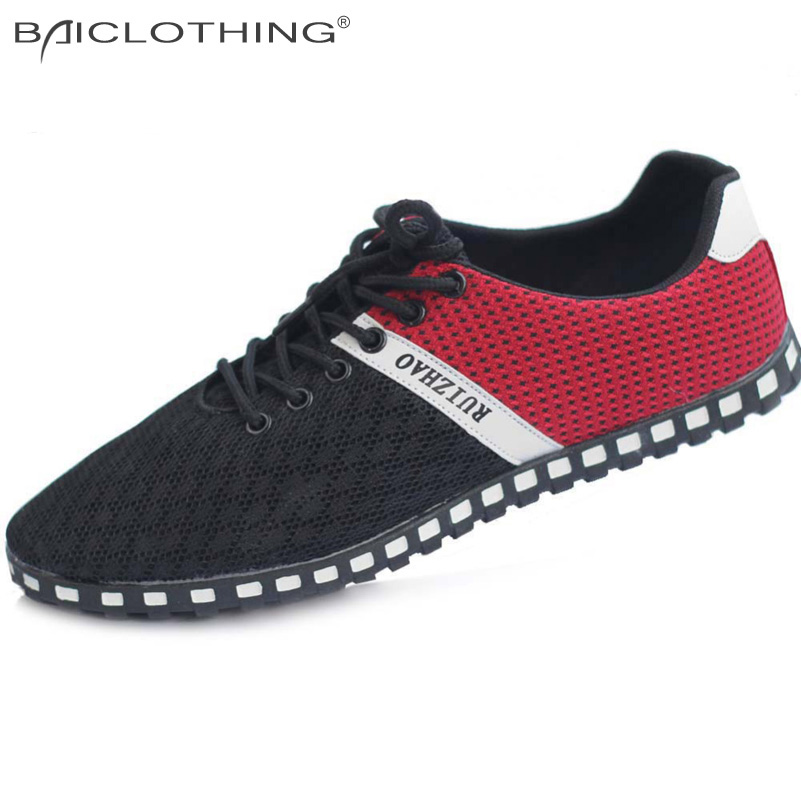High Quality 2015 New Lightweight Breathable Mesh Of Mens Casual Shoes Shoes  Fashion Breathable Soft Flat Shoes Men<br><br>Aliexpress