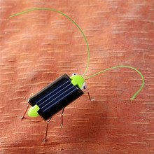 Mini Solar Ant Popular Kids Toys Insects Model Solar Powered Locust Play & Learn Educational Solar Novelty Toys for Children(China)