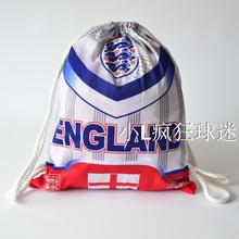 sports outdoor polyester England soccer bag Portable football fan football boots shoes bag Fans souvenirs storage bag gift