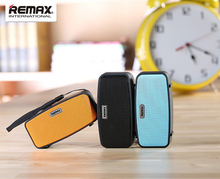 REMAX RM-M1 Mini Bass Stereo Speaker Music Portable Bluetooth Speaker TF Card FM Radio For iPhone Samsung iPad Tablet