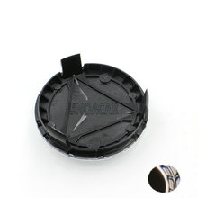 20pcs/lot 75mm New Black Chrome 3pin Car Wheel center Hub Caps Cover cap For Mercedes A B C CLA CLS G M R A1714000025(China)