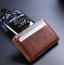Multifunctional Velcro Wallet,MAGIC MONEY CLIP,by PU 10x7x1cm