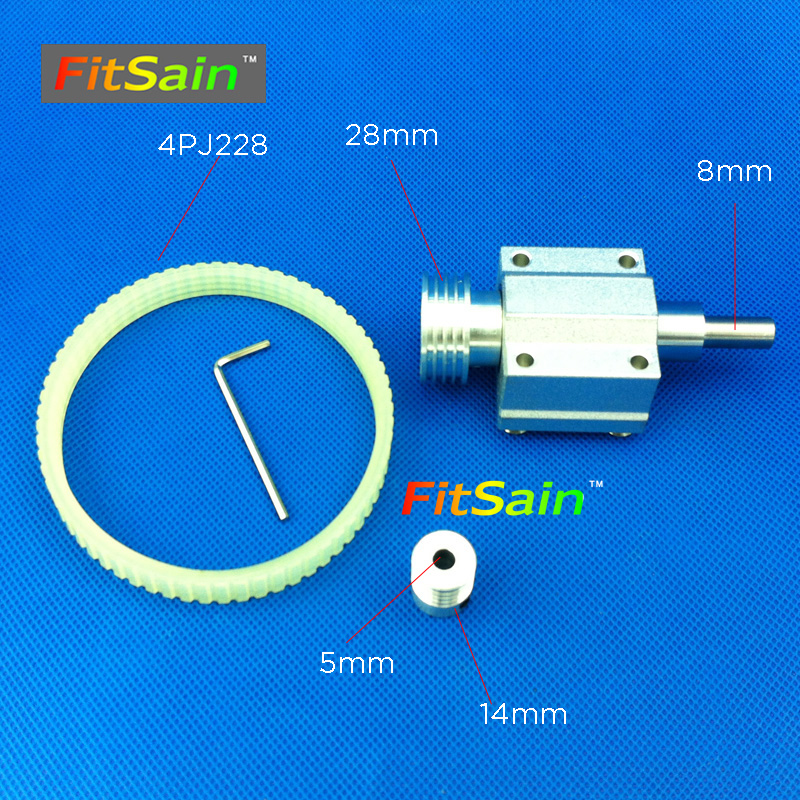 FitSain-hole 5mm pulley Machine Pulley Bench mini Lathe spindle shaft 8mm mini table saw mini drill press<br>
