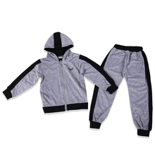 New 2017 brand spring autumn baby boys clothing sets fashion coat and pants set boys clothes letters printed sport suits