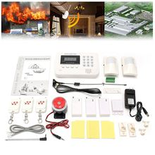 NEW Safurance GSM Wireless PIR Sensor Home House Security Burglar Alarm System Auto Dialing Dialer Alarm Mainframe Kits