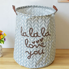 Large Laundry Storage  Hamper Box Fabric Foldable Bathroom Clothes  Toy Storage Basket Bags Panier Opbergzak Speelgoed